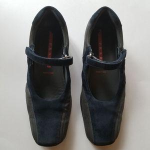 Prada sport Mary Jane shoes